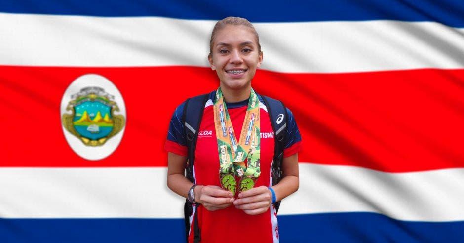 Noelia Vargas apunta a los Juegos Olímpicos Tokio 2020. Archivo/La República