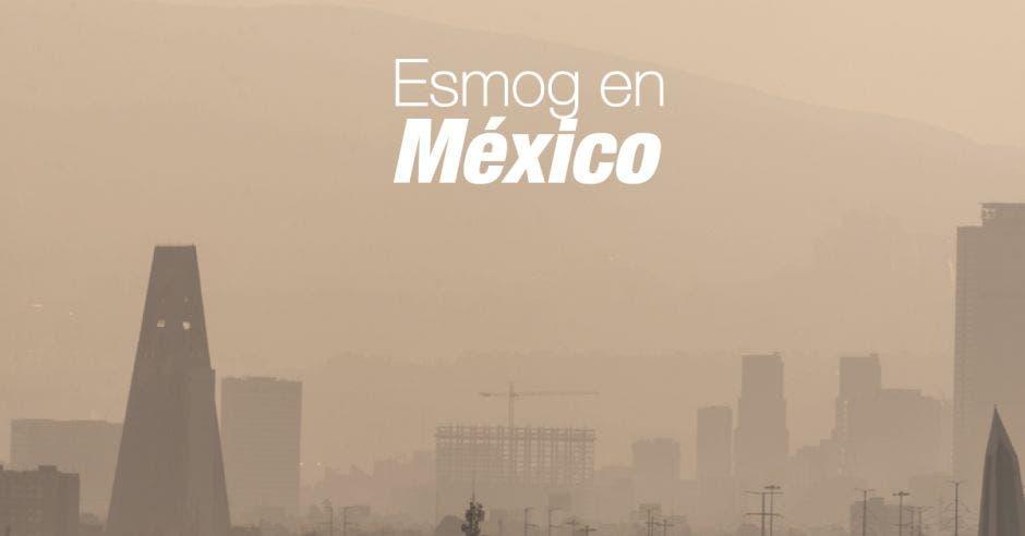 Ciudad de México llena de esmog