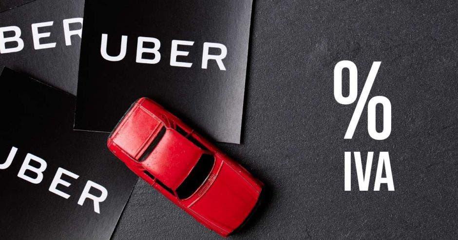 Respuesta se da a consulta de taxistas sobre cómo regiría el IVA a Uber. Elaboración propia/La República