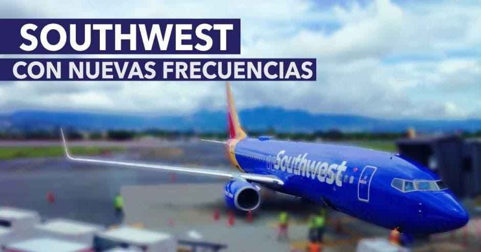 La apertura de las nuevas frecuencias fueron confirmadas por Mónica Murillo, gerente general para Southwest en San José. Cortesía/La República