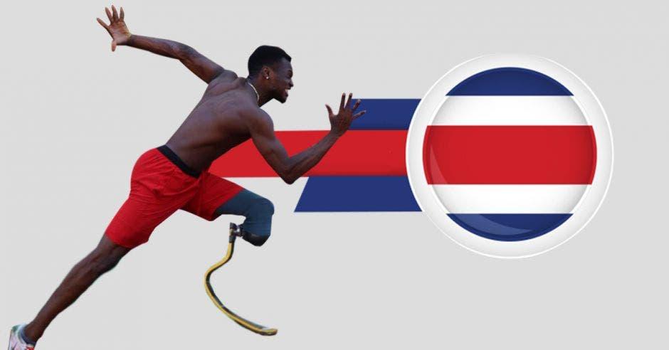Atleta costarricense Sherman Güity gana oro con la mejor marca del ranking mundial
