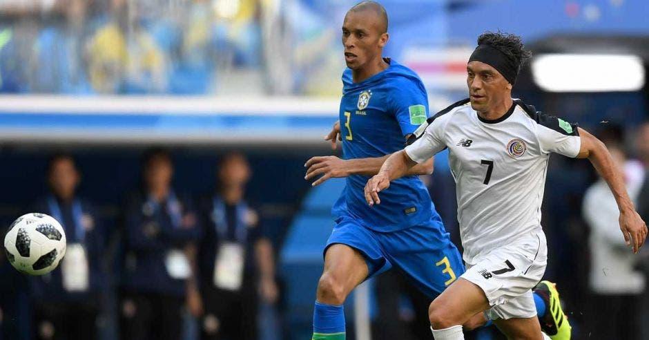 Christian Bolaños ha disputado tres Mundiales con Costa Rica. AFP/La República