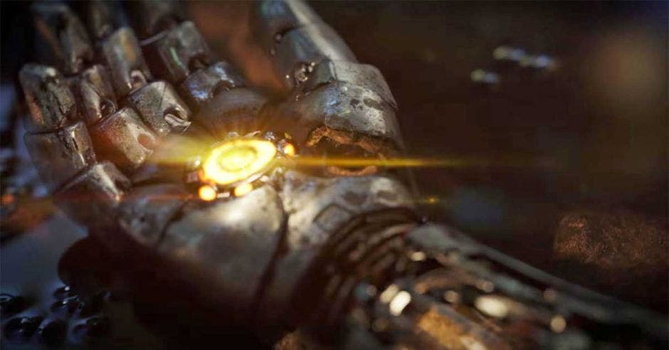 Brazo de Iron Man