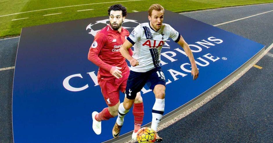Harry Kane y Sadio Mané serán dos de los protagonistas de la final de la Champions League. UEFA/La República