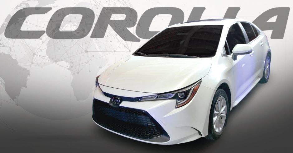 El nuevo Toyota Corolla destaca por su comodidad en su interior y deportividad. Cortesía/La República