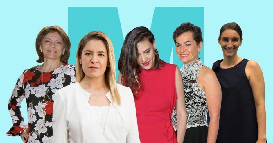Cinco mujeres con logros internacionales