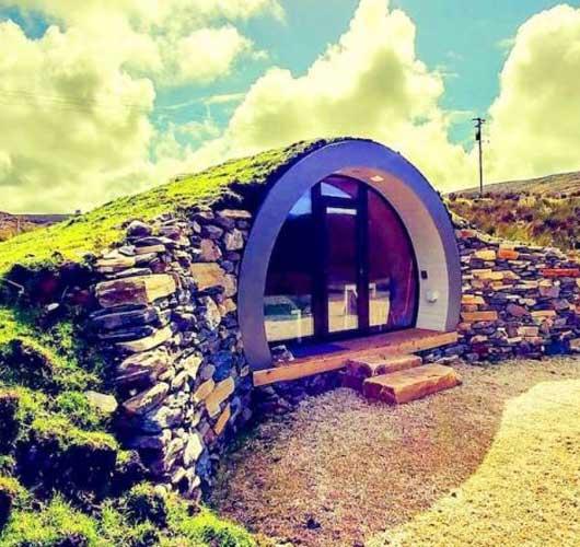Hobbit Hillpod, Glencolumbkille, Donega (Irlanda)