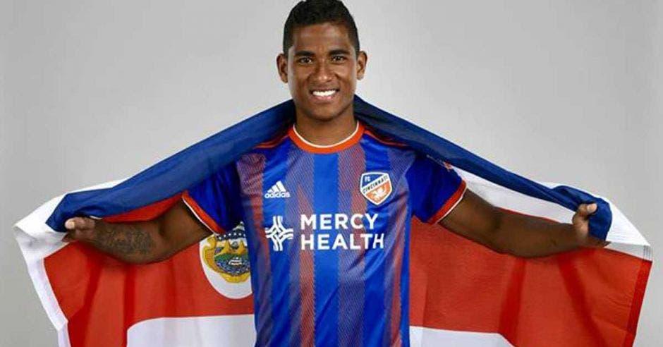 Allan Cruz es uno de los candidatos a jugar como titular en Copa Oro. Facebook Allan Cruz/La República