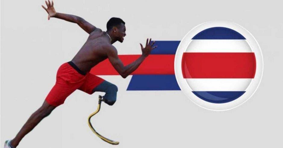 Güity es de los deportistas más destacados del para-atletismo. Archivo/La República