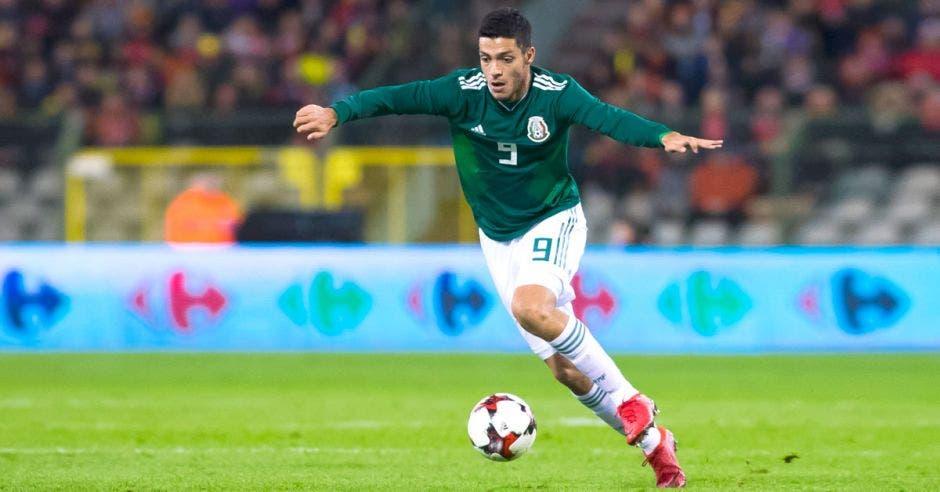 Raúl Jiménez es la principal ficha mexicana en ofensiva para Copa Oro. Televisa/La República