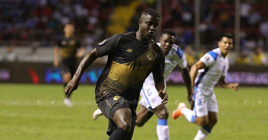 El debut en la Tricolor no ha sido el más favorable para un jugador que vive de las anotaciones principalmente. Fedefutbol/La República