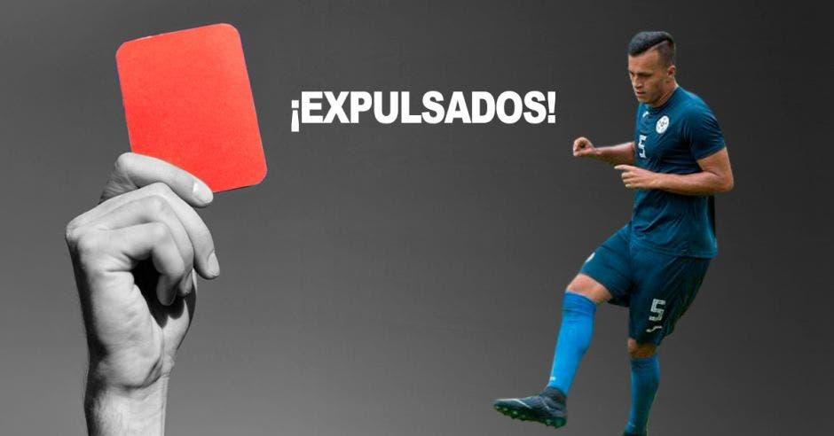 Carlos Montenegro jugó la temporada anterior con Carmelita y es uno de los expulsados. FENIFUT/La República