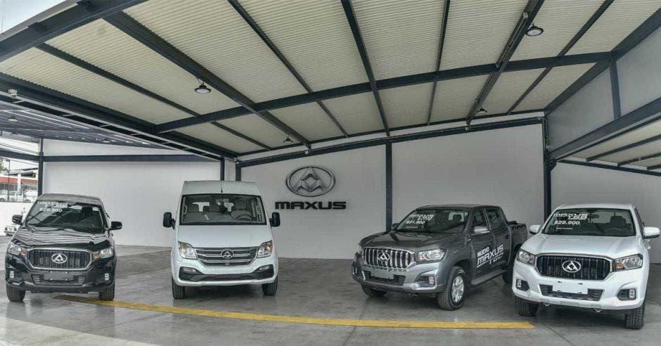 Pick ups y minivans destacan en el stock. MAXUS/La República