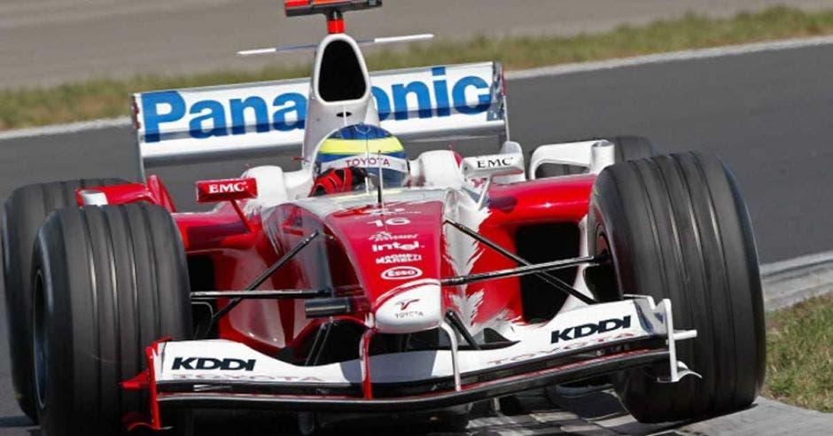 Ricardo Zonta en el GP de Hungría. F1/La República