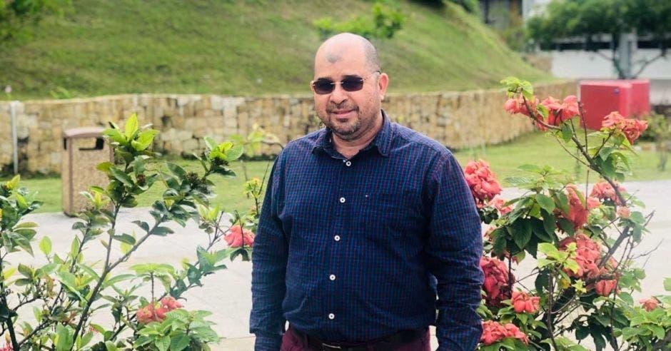 Juan Miguel Herrera en instalaciones de la UNA