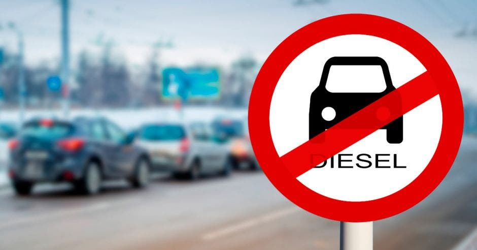 Prohibición de autos diésel