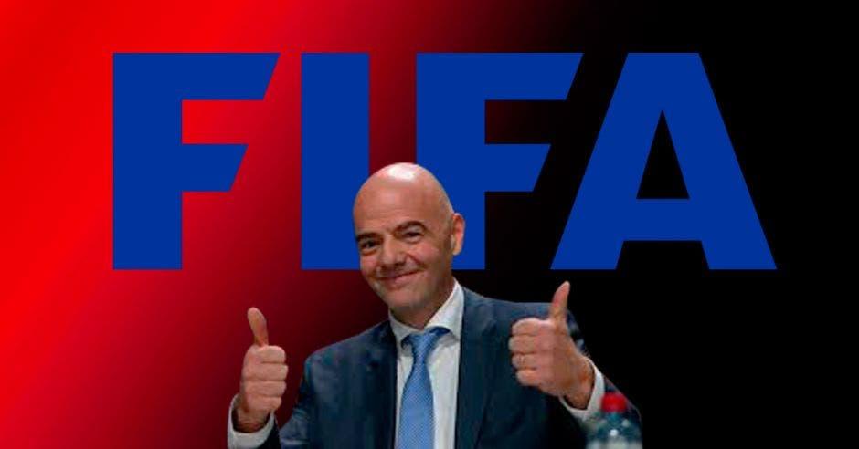 Gianni Infantino, presidente de FIFA. Archivo/La República