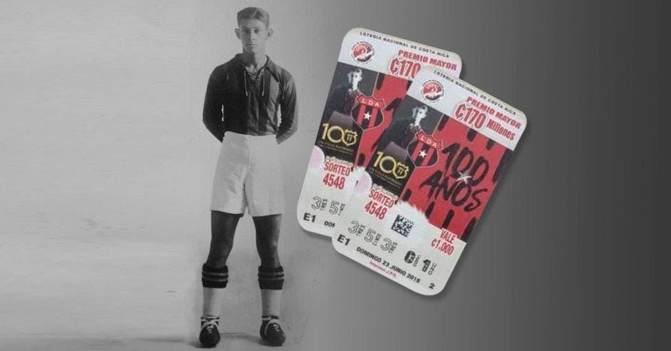 Alejandro Morera Soto debutó con Alajuelense en 1925 y se convirtió en el mejor jugador que ha estado en la institución. Archivo/La República