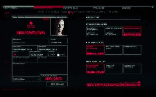 Personaje de Cyberpunk