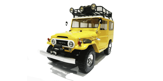Land Rover amarillo
