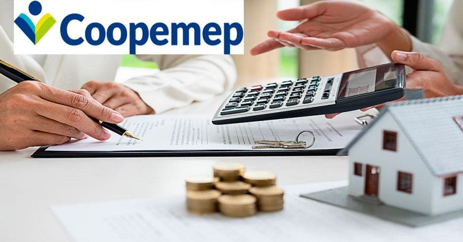 calculadora, monedas, Coopemep, vivienda