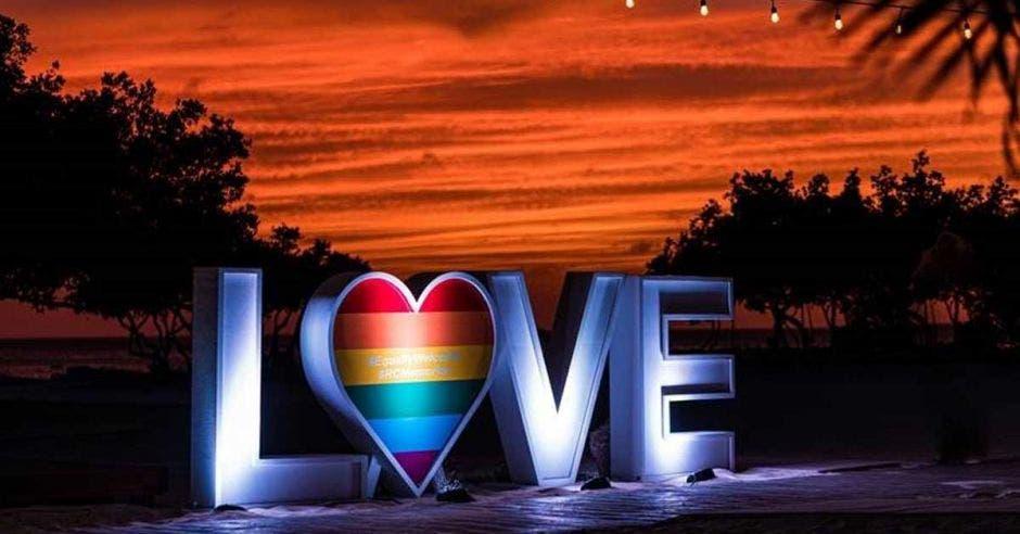 letras que se leen love