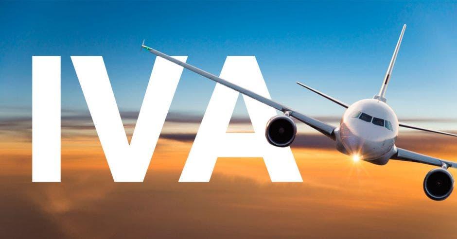 IVA sobre avión