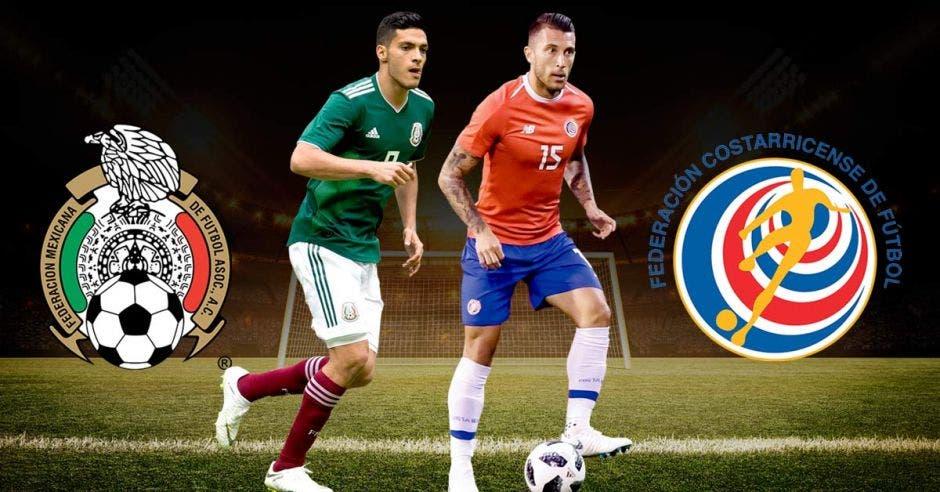 Costa Rica enfrentará al rival con mayor poderío ofensivo en la Copa Oro. Fedefútbol-Fedmexfut/La República