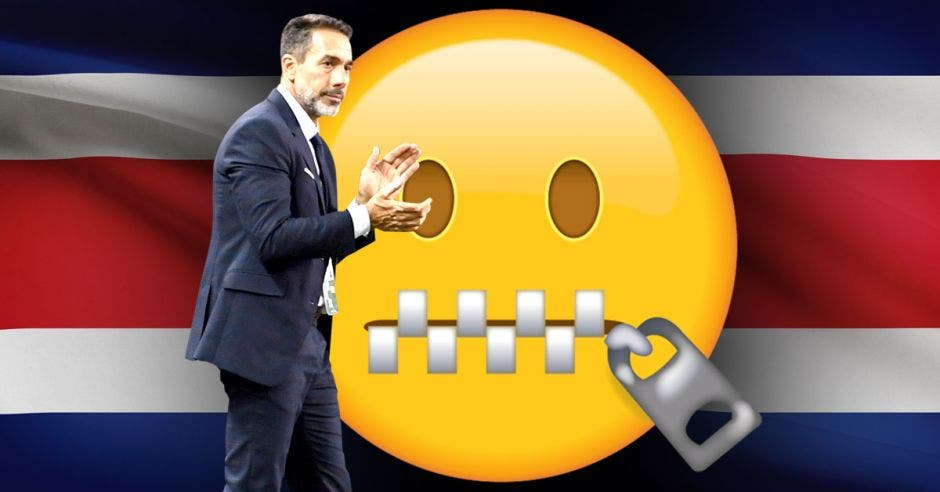 Matosas y emoticon de silencio