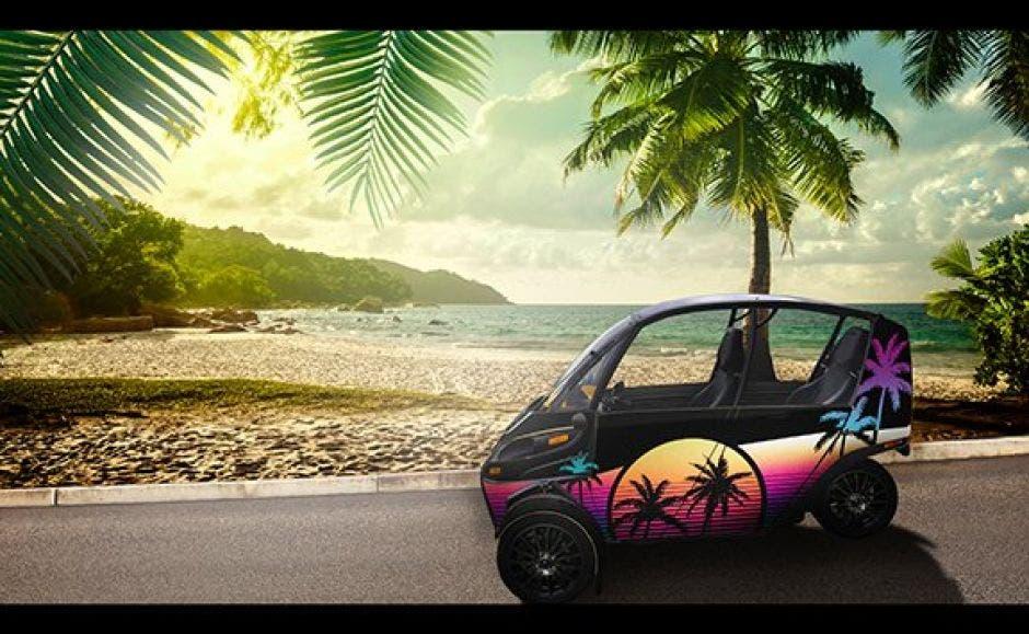 Vehiculo electrico en Guanacaste