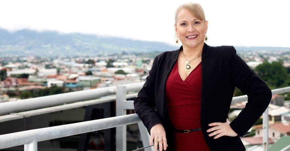 Ileana Vargas, presidenta de la Cámara Costarricense de Empresas de Factoreo