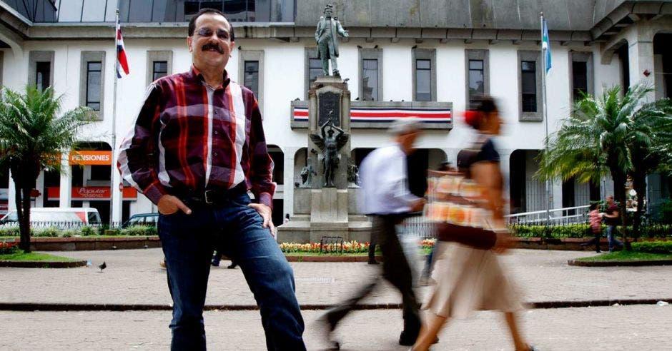 Albino Vargas, secretario de la Asociación Nacional de Empleados Públicos. Archivo/La República.