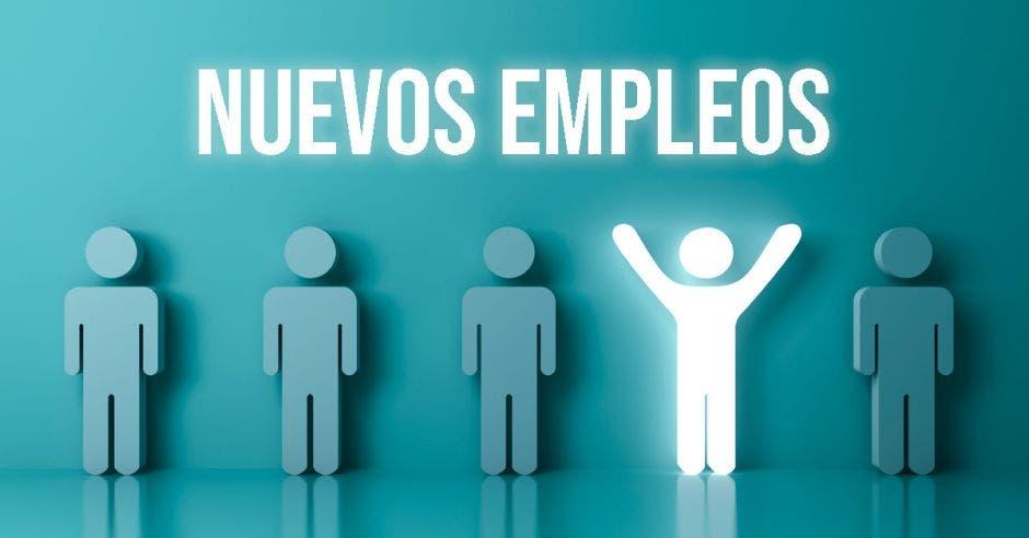 rótulo que dice: nuevos empleos