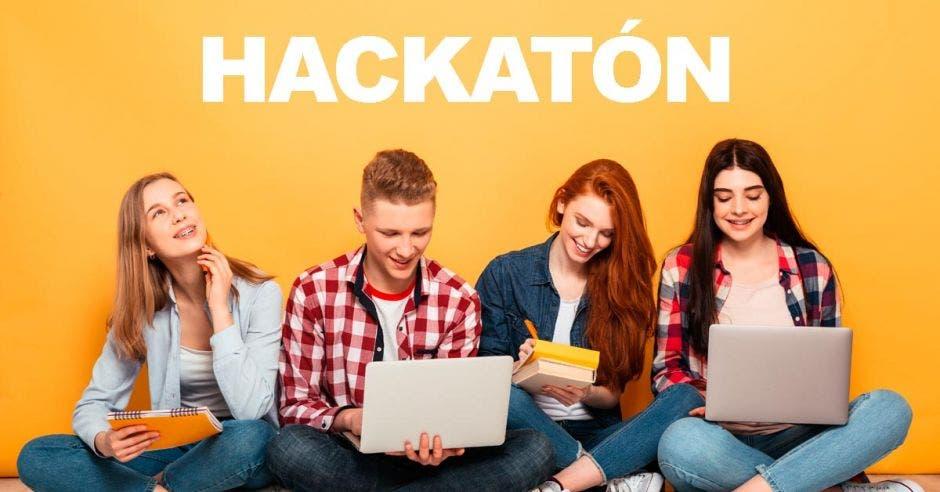 Hackatón, computadoras, informáticos