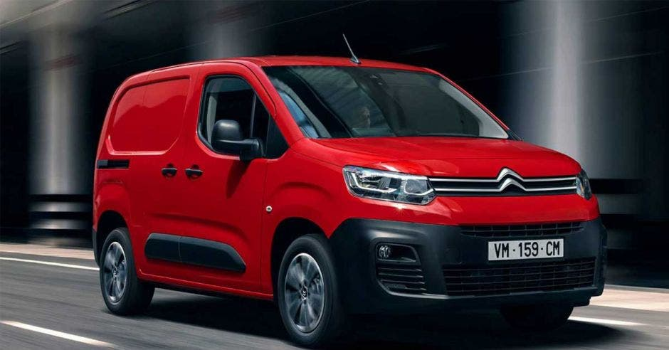 Berlingo van de Citroen