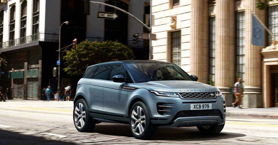 Range Rover Evoque en la ciudad
