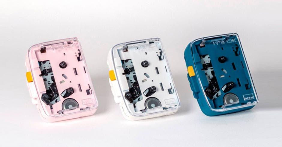 Tres versiones del Walkman