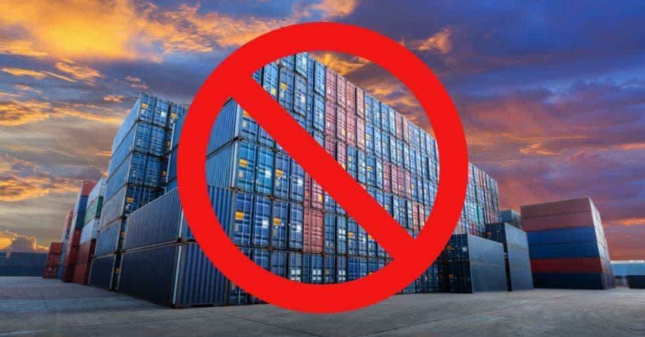 Containers de exportación