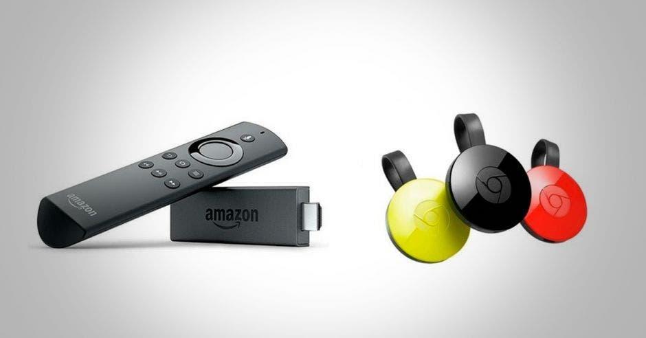Fire TV y Chromecast