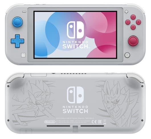 La consola también vendrá en una edición especial de Pokémon Espada y Escudo