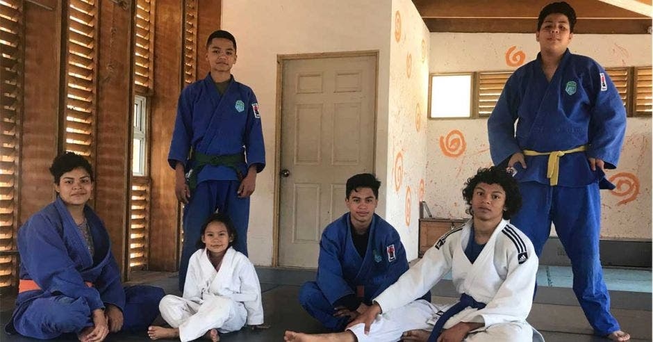Muchachos de judo