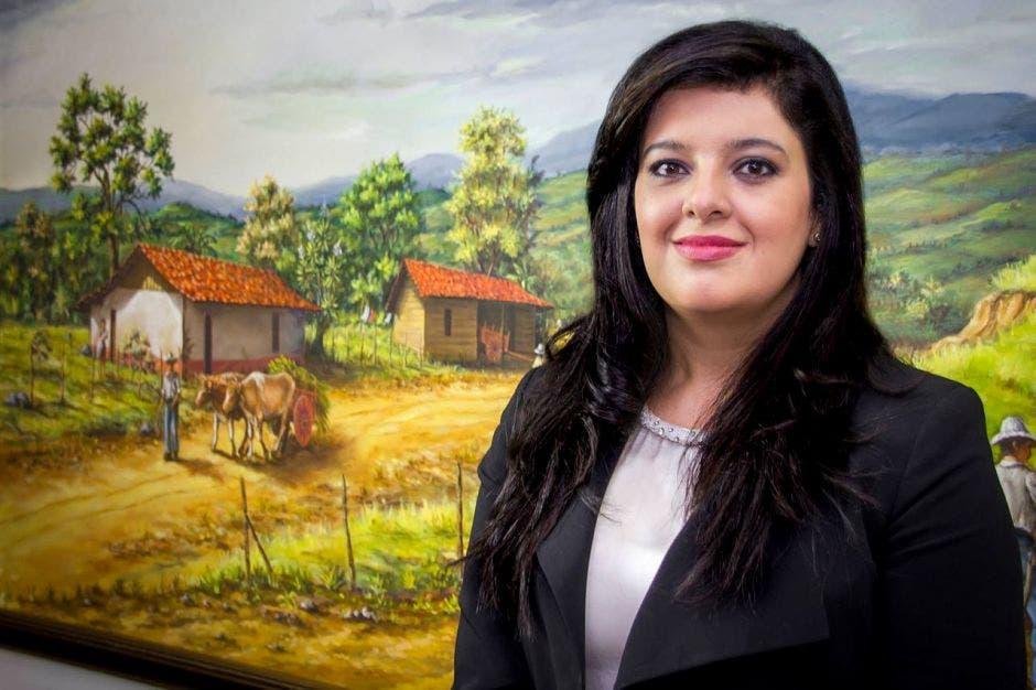 Pilar Garrido, ministra de planificación. Archivo/La República