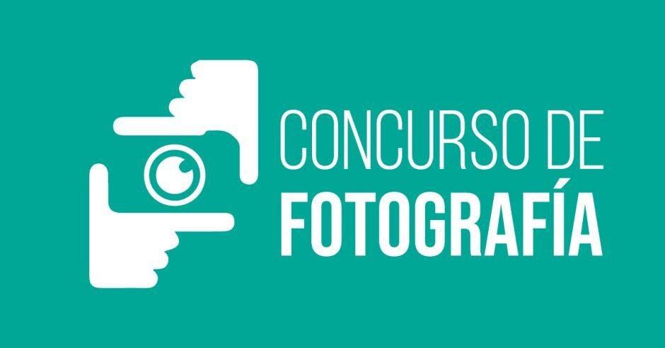 rótulo que dice: concurso de foto