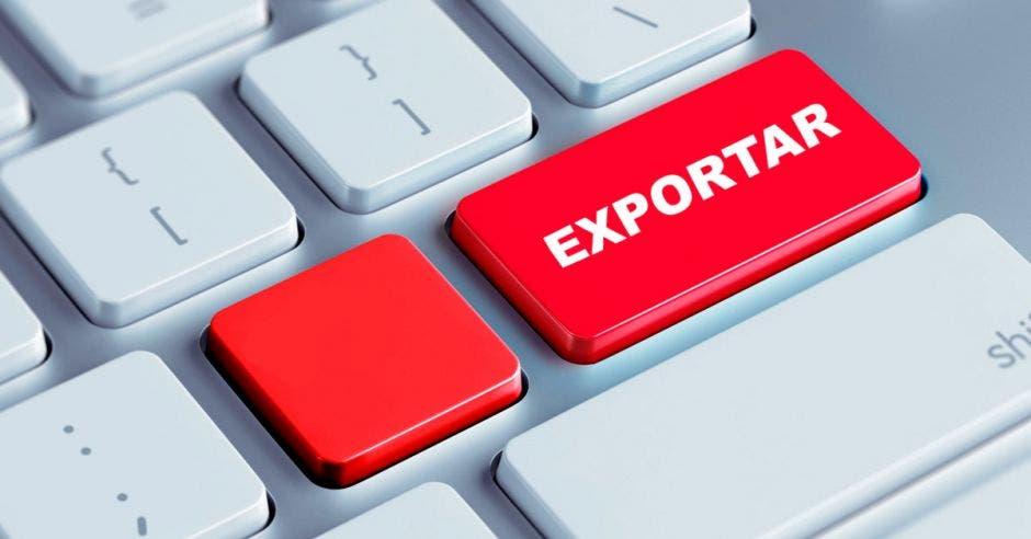 Teclado, exportar