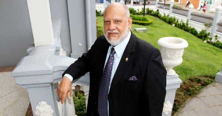 Carlos Avendaño, jefe de Restaruación Nacional. Archivo/La República