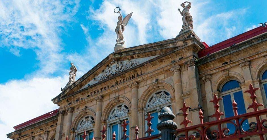 El Teatro Nacional. Archivo/La República