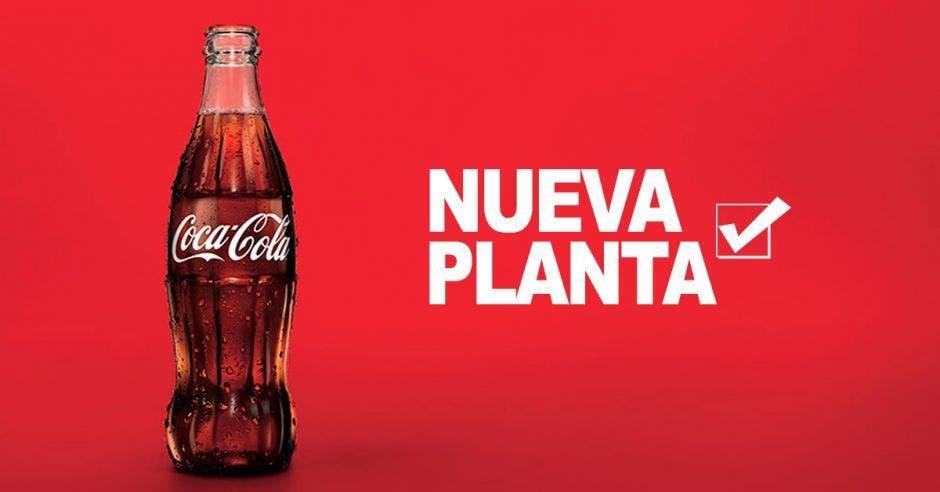 botella de Cola Cola