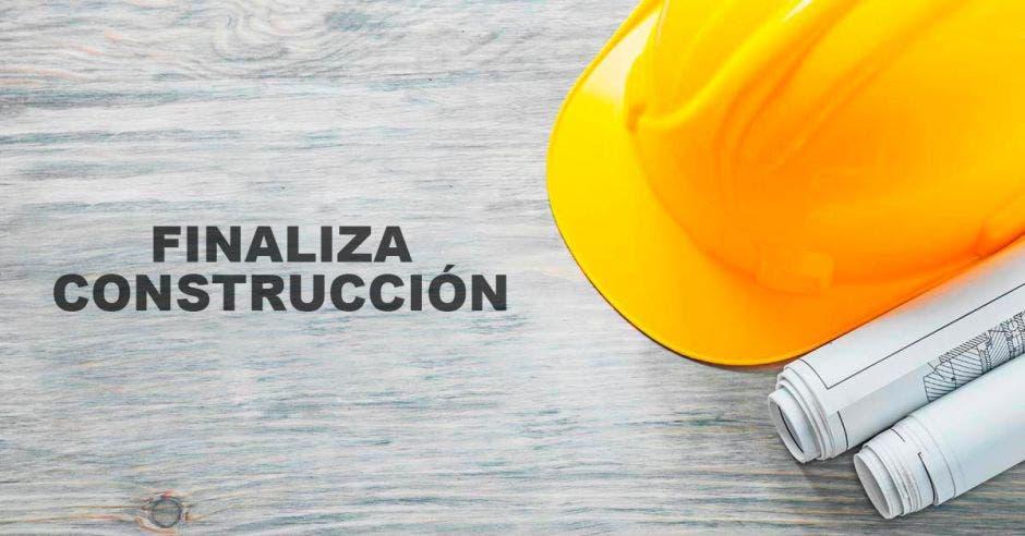 Finaliza construcción