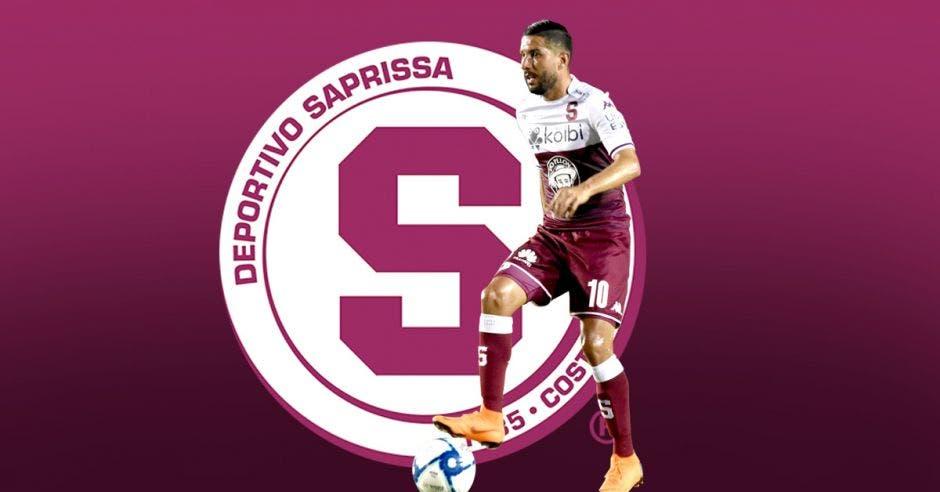 Marvin Angulo estuvo entre los máximos goleadores de Saprissa el torneo anterior. SAP/La República