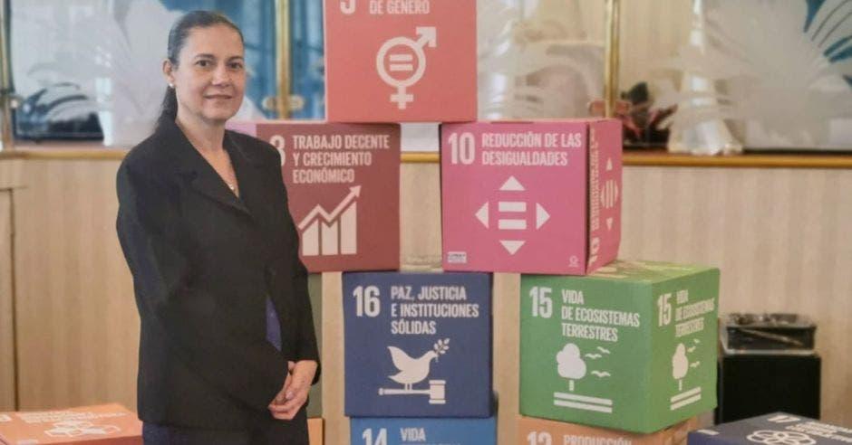 Maritza Hernández, coordinadora del Comité de Género de Uccaep